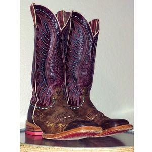 ARIAT Vaquera square toe boots